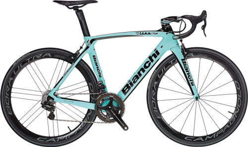 Bianchi Super Record EPS 11sp Compact 52/36 2017 Racing bike