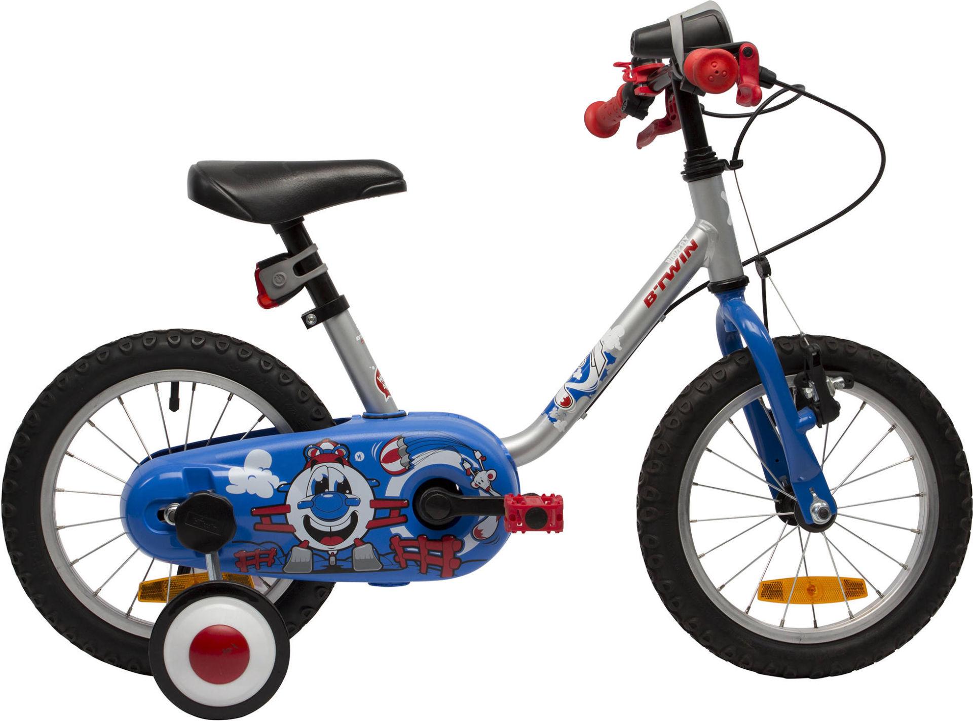 e9d889ce98e Btwin BIRDYFLY 14-INCH CHILDREN'S BIKE - BLUE 2017 - First Bike bike