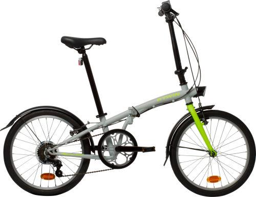 "Btwin Hoptown 320 20"" - Grey 2017 Folding bike"