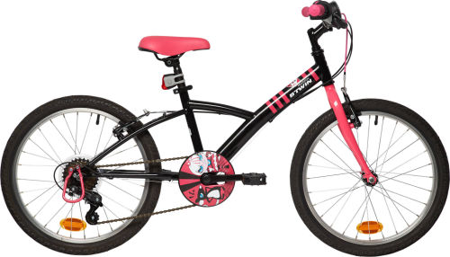 Btwin Mistigirl 320 20-inch Bike - Black/Pink 2017 First Bike bike