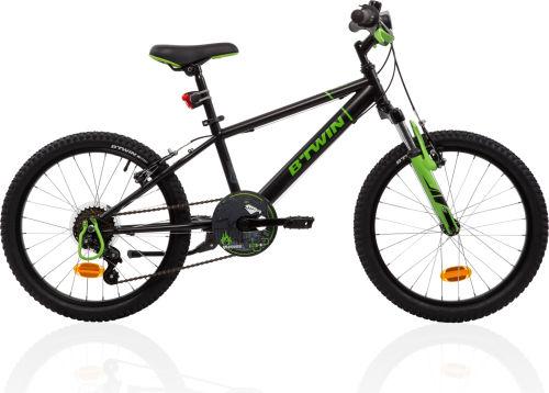 f90b9120b197 Btwin Racing Boy 500 Kids  20-Inch Bike - Black Green 2017 First