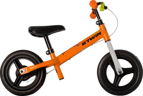 Btwin Run Ride 500 Kids' 10-Inch Balance Bike - Orange 2017 Balance bikes bike
