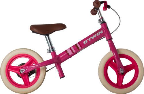 Btwin Run Ride City Kids' 10-Inch Balance Bike - Pink 2017 Balance bikes bike