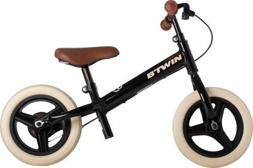 Btwin Run Ride Cruiser Kids' 10-Inch Balance Bike - Black 2017 Balance bikes bike