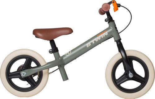 Btwin Run Ride Cruiser Kids' 10-Inch Balance Bike - Khaki 2017 Balance bikes bike
