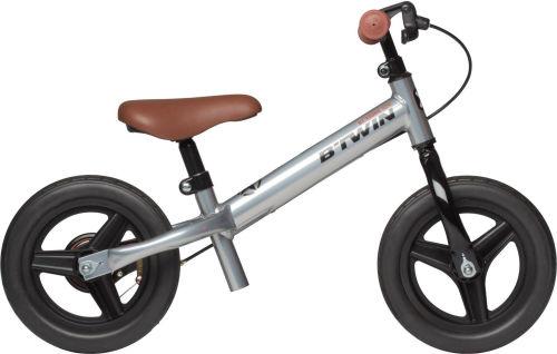 Btwin Run Ride Cruiser Kids' 10-Inch Balance Bike - Silver 2017 Balance bikes bike