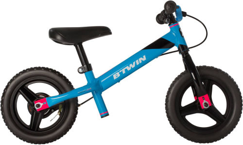Btwin Run Ride Kids' 10-Inch Mountain Bike Balance Bike - Blue 2017 Balance bikes bike