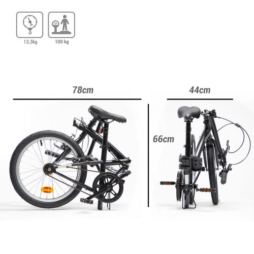 Btwin Tilt 100 2020 Folding bike