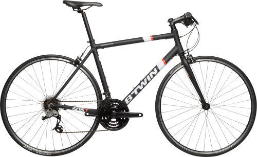 Btwin Triban 500 FB Road Bike - Black/White/Orange 2017 Fitness bike