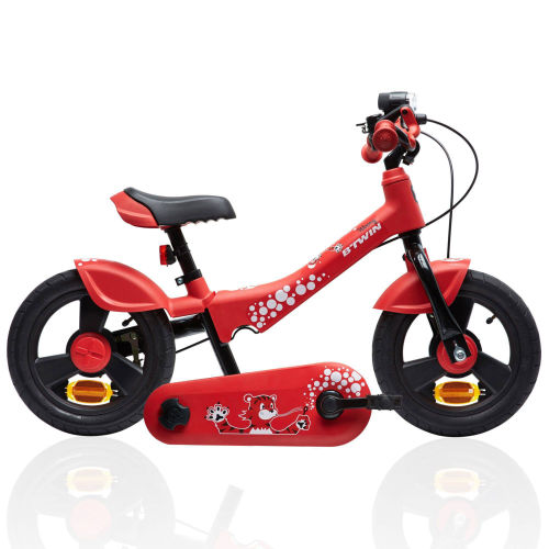 5f7d3d008444 Btwin Woony 700 Convertible 12-Inch Balance Bike - Red 2017 First Bike bike