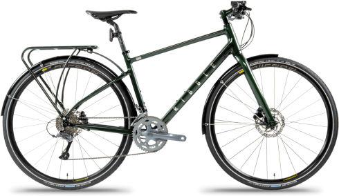 Ribble Hybrid AL Green - Commuter Fully Loaded Edition 2020 Hybrid bike