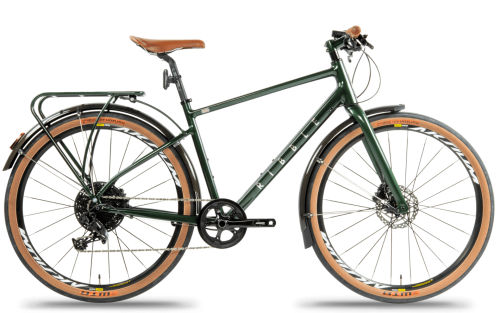 Ribble Hybrid AL Green - Leisure Fully Loaded Edition 2020 Hybrid bike